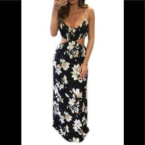 Maxi dress floral NWT